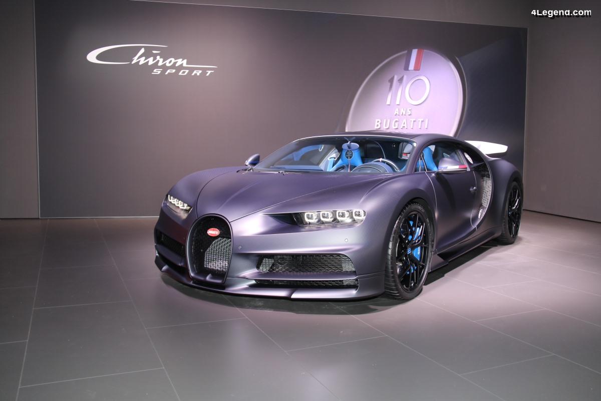 VW Group Night Genève 2019 - Bugatti Chiron Sport 110 ans Bugatti