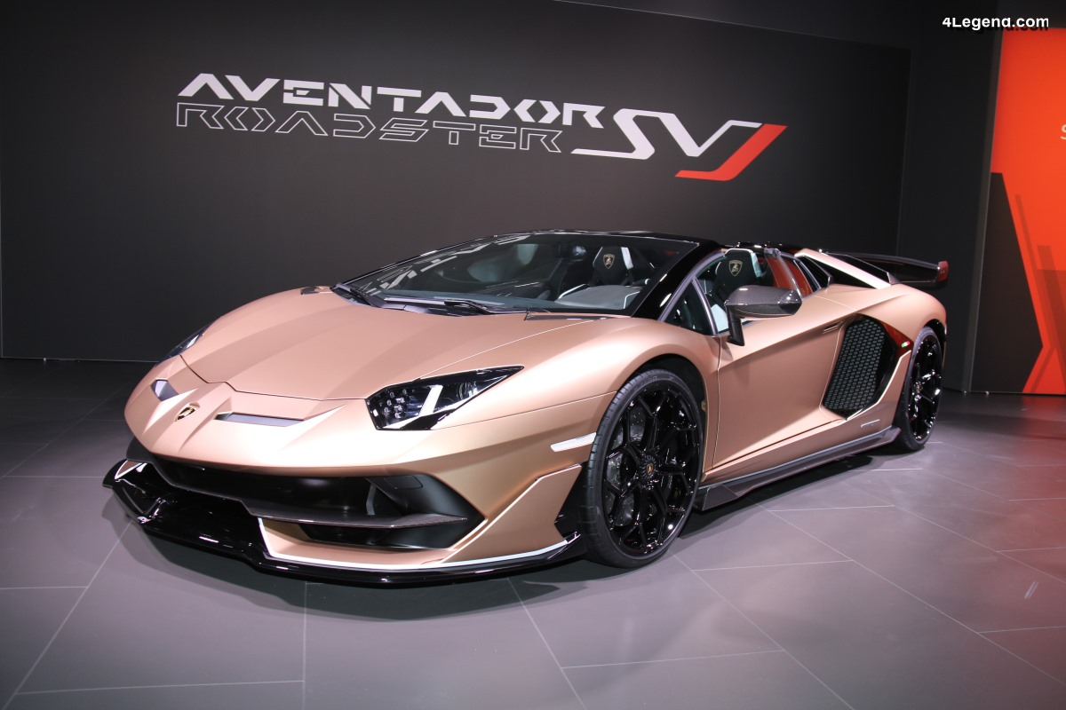 VW Group Night Genève 2019 - Lamborghini Aventador SVJ Roadster