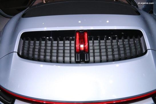 Anecdotes – Spécificités de l'entrée d'air moteur des Porsche 911 type 992