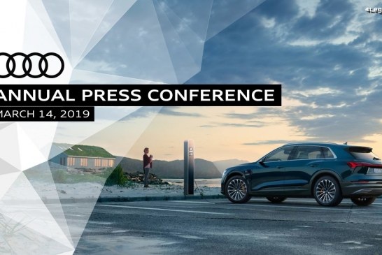 Live de la conférence de presse annuelle Audi