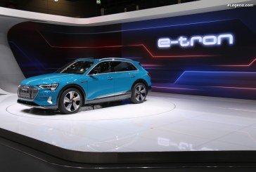 Autonomie réelle de 446 km pour l'Audi e-tron 55 quattro