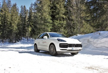 Porsche essais hiver 2018-2019: Porsche Cayenne Turbo