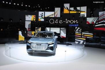 L'Audi Q4 e-tron sera assemblée à Shanghai en Chine