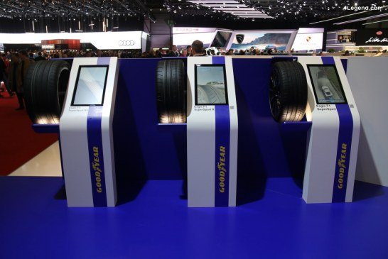 Genève 2019 – Nouvelle gamme de pneus sportifs Goodyear Eagle F1 SuperSport