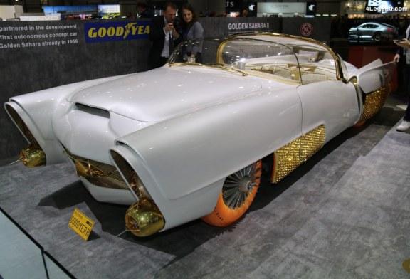 Genève 2019 – Golden Sahara II de 1956, équipée de pneus Goodyear inédits