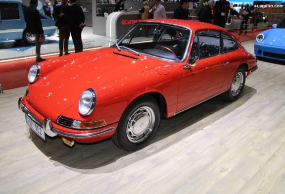 Genève 2019 – Porsche 901 de 1964 – châssis 300078 – restaurée par RUF