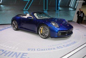 Genève 2019 – Focus sur les nouvelles Porsche 911 Cabriolet type 992 (Carrera S & Carrera 4S)