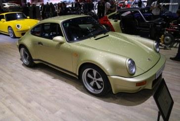 Genève 2019 – Restomod Porsche 911 Carrera Goldfinger par RUF