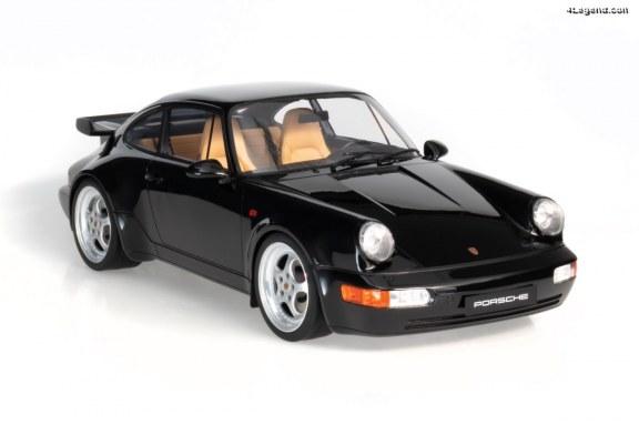 Miniature Porsche 911 3.6 Turbo au 1:8 – Une nouvelle gamme par GT Spirit