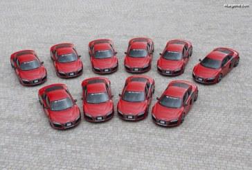 10 Audi R8 e-tron produites en 2012 et 2013 – aucune n'a été vendue