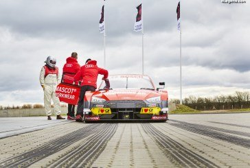 Tom Kristensen au volant de l'Audi RS 5 DTM