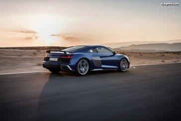 Tarifs français et ouverture des commandes de l'Audi R8 restylée