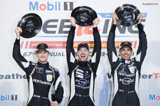 Victoire de Lamborghini aux 12 Heures de Sebring 2019