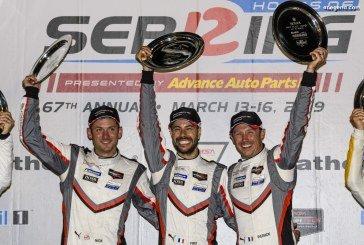 Porsche remporte les 12 Heures de Sebring 2019