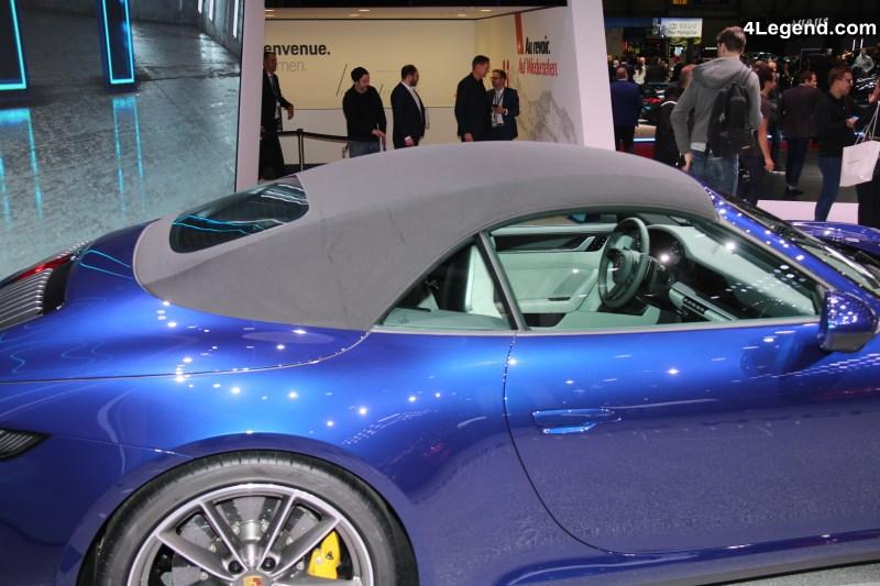 gen ve 2019 focus sur les nouvelles porsche 911 cabriolet type 992 carrera s carrera 4s. Black Bedroom Furniture Sets. Home Design Ideas