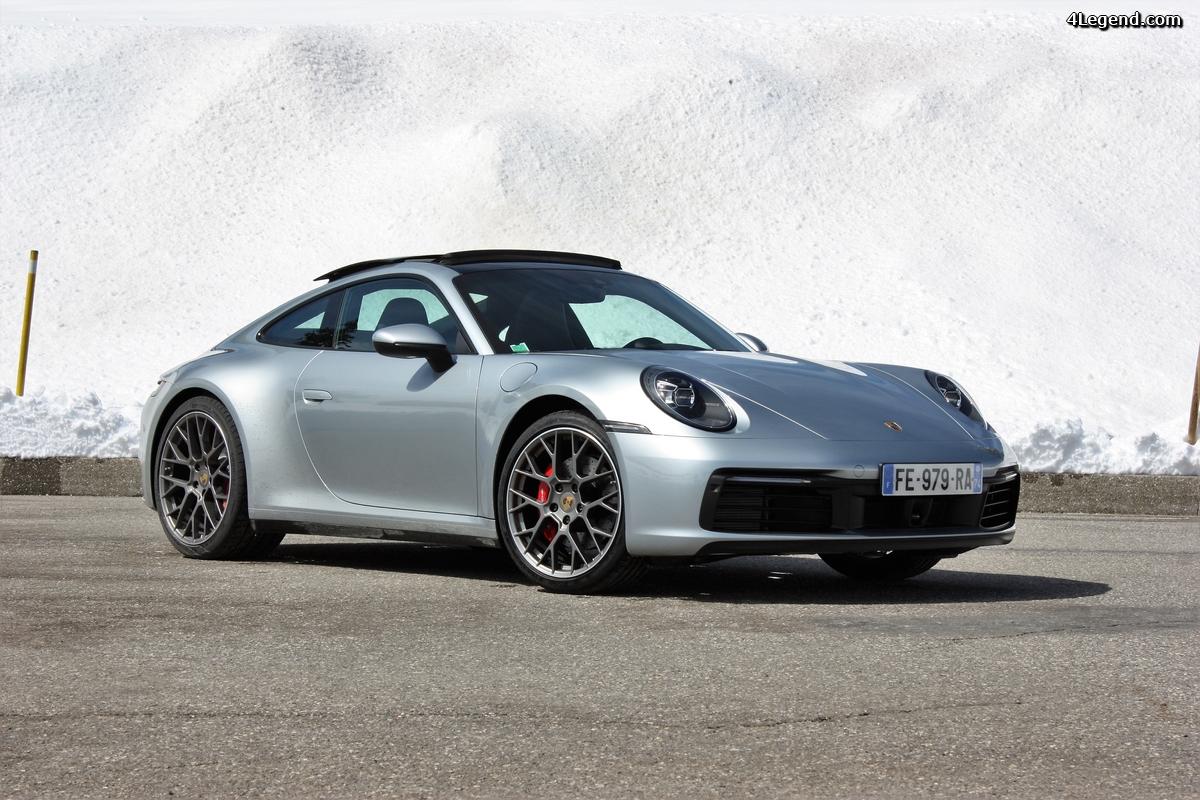 Test drive Porsche 992 Carrera S: un essai au sommet