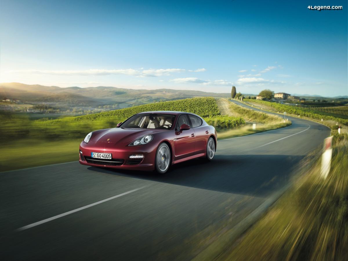 2009 - 2019 : La Porsche Panamera fête ses 10 ans