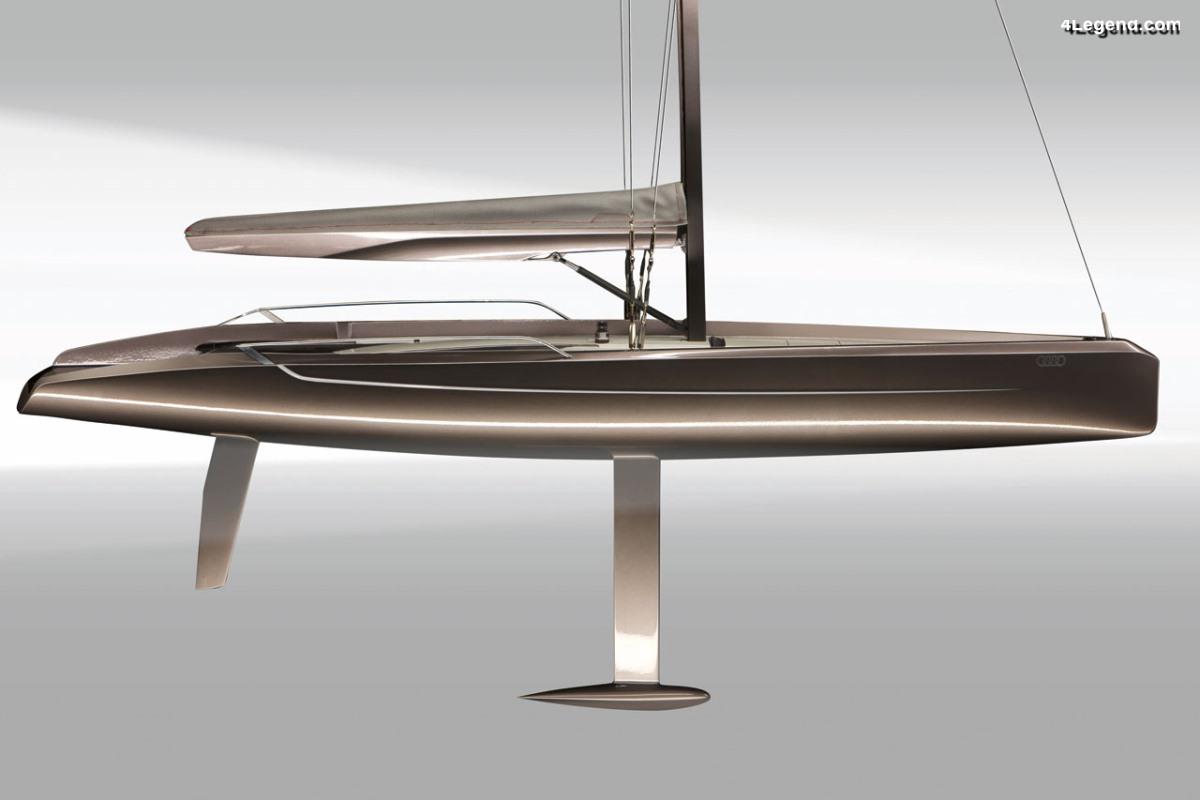 Audi Daysailer de 2009 - Un concept de bateau à voile surprenant