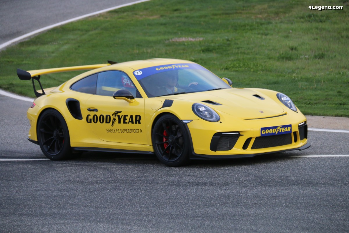 Essai du pneu Goodyear Eagle F1 SuperSport R sur Porsche 911 GT3 RS
