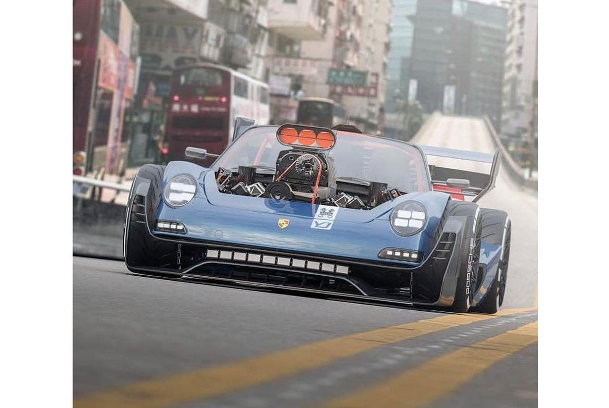 Un monstrueux Hot Rod Porsche 911 motorisé par un V8 HEMI