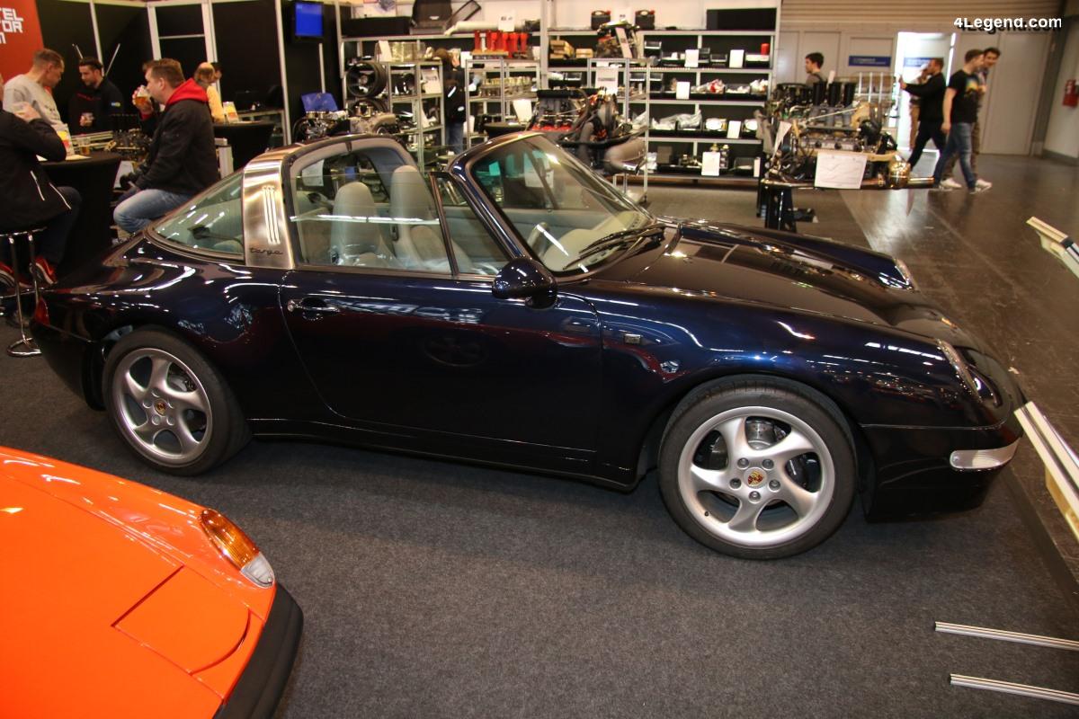 TCE 2019 - Une unique Porsche 911 Targa type 993