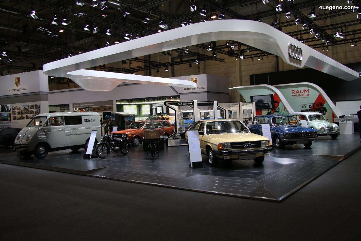 TCE 2019 - Exposition de breaks et camionnettes par Audi Tradition
