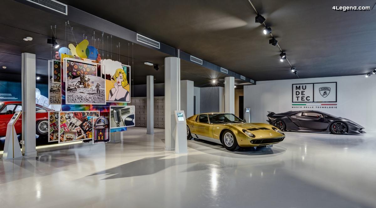 MUDETEC - Le musée Lamborghini de technologie