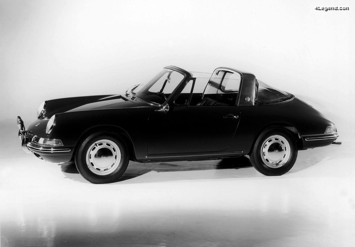 Anecdote - Connaissez-vous les 4 variantes de la Porsche 911 Targa de 1965?