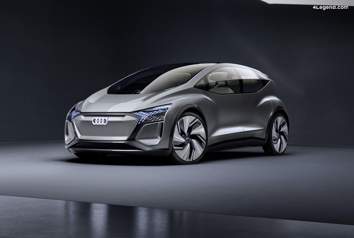 Audi AI:ME - Un concept de mobilité pour les mégapoles