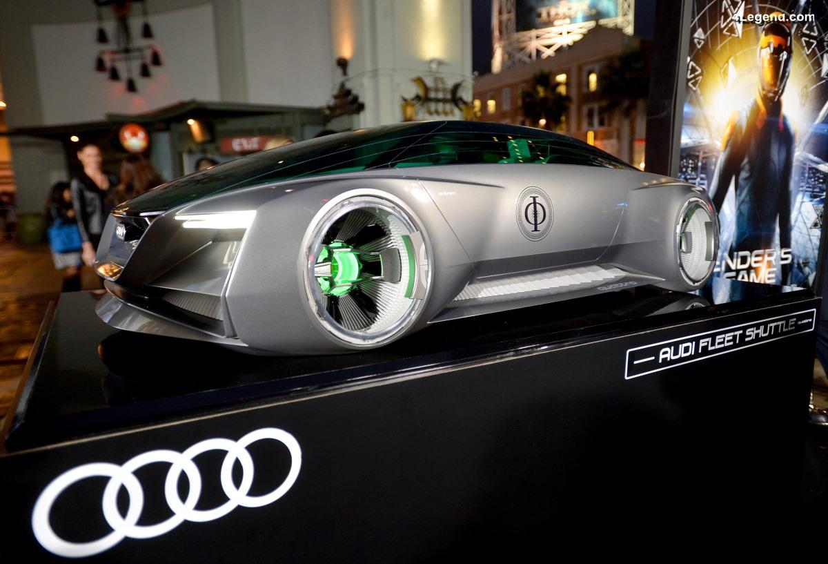 Audi fleet shuttle quattro de 2013 - La voiture futuriste de Ender's Game
