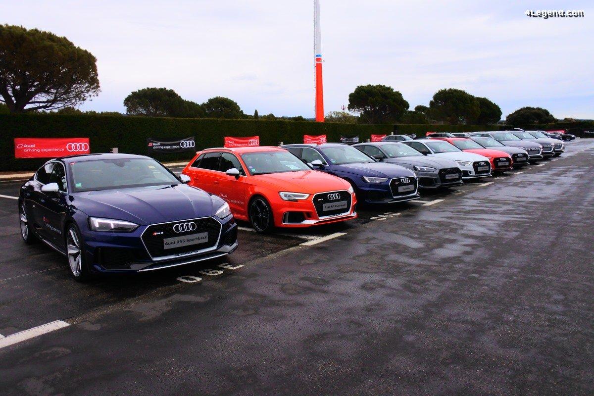 Audi Sport experience 2019 au Castellet - Des essais au top!