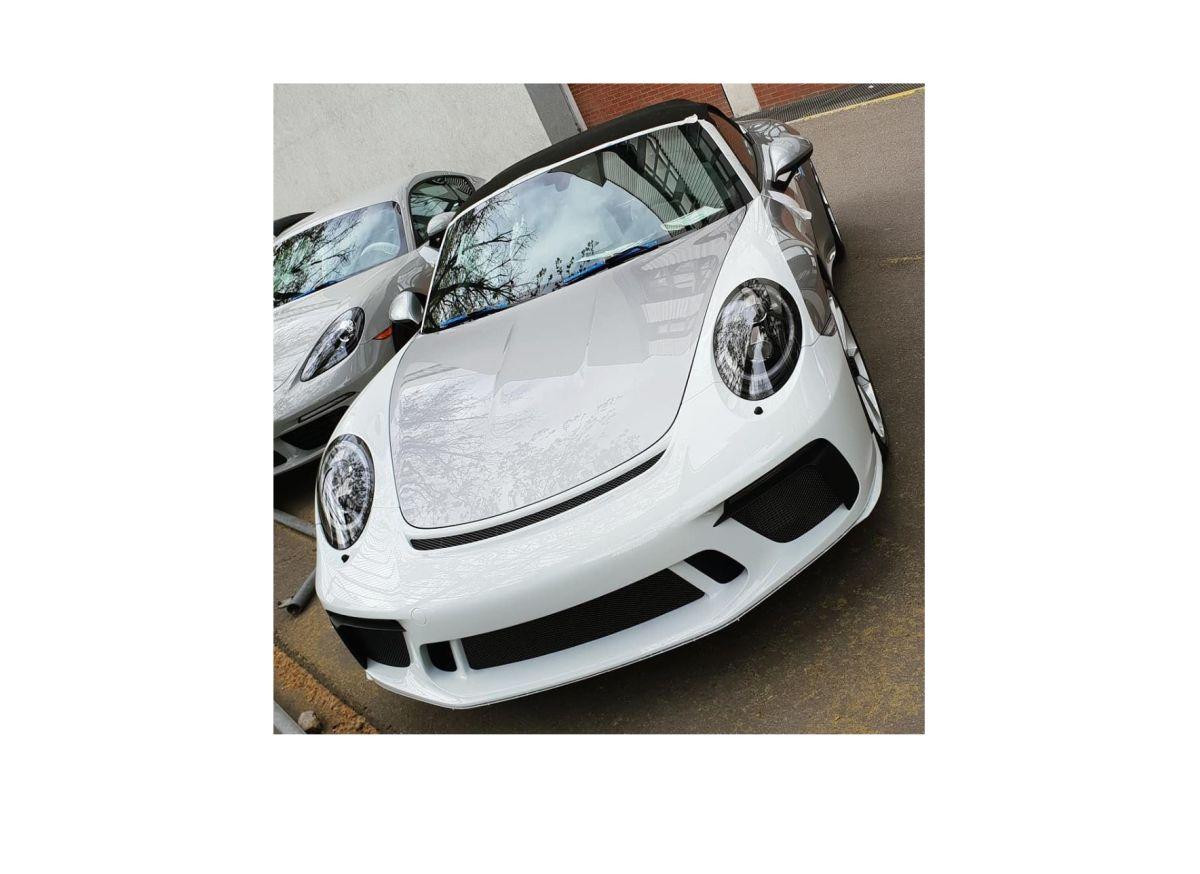 Lancement de la production de la Porsche 911 Speedster 2019