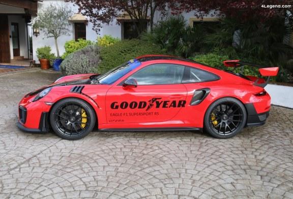 Découverte du pneu Goodyear Eagle F1 SuperSport RS sur Porsche 911 GT2 RS
