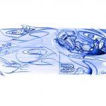 Design intérieur de la Bugatti Chiron – Réduction à l'essentiel