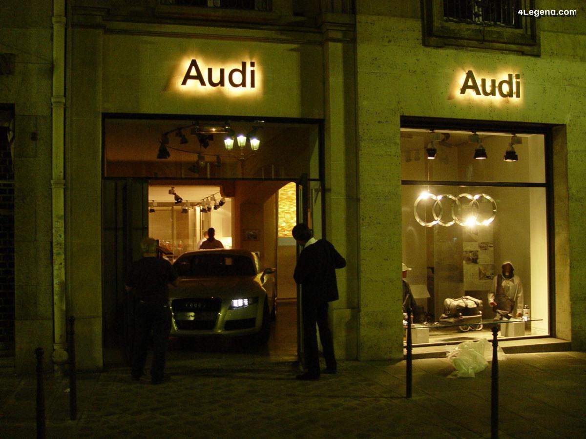 Espace Audi rue Royale : Le premier showroom Audi au centre de Paris