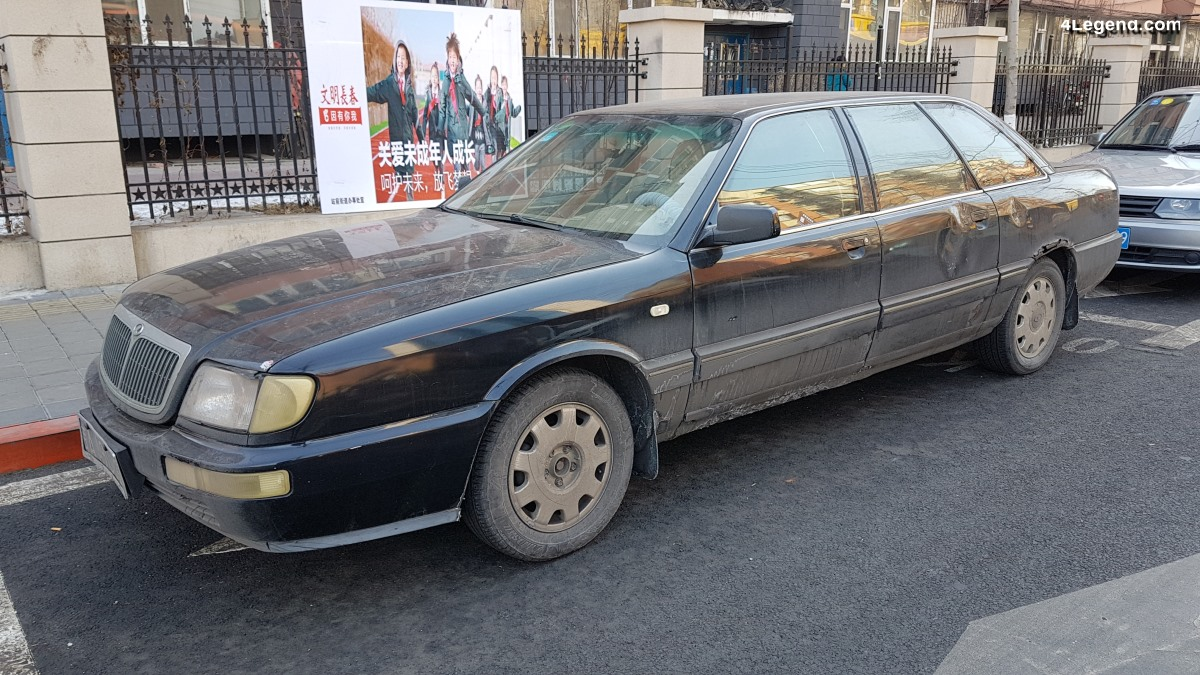Une rare Hongqi FAW Audi 100 Limousine en Chine