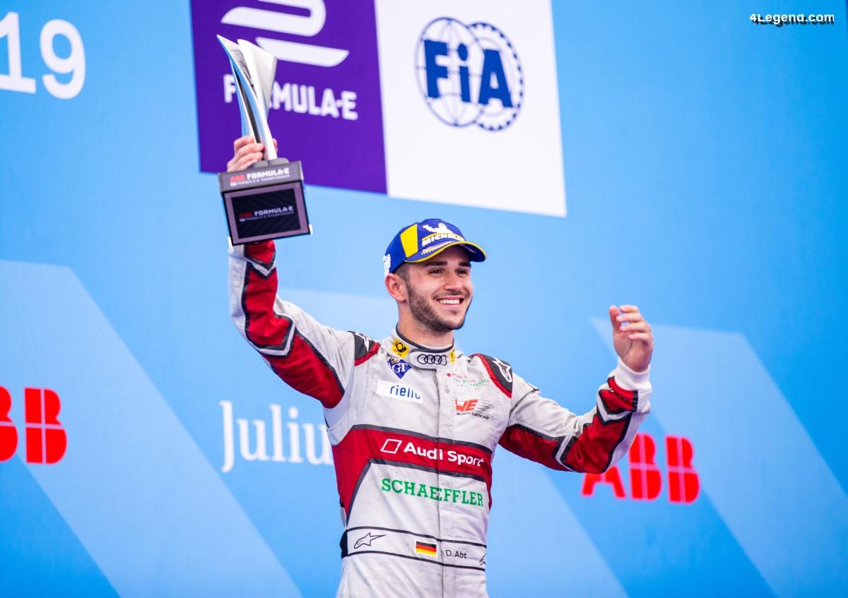 Formule E - Podium pour Audi à l'E-Prix de Paris 2019