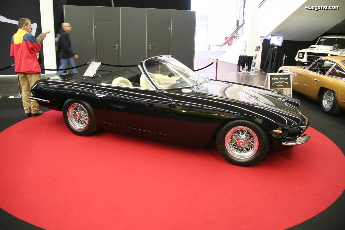 Lamborghini 400 GT Spyder de 1967 - L'un des deux exemplaires existants