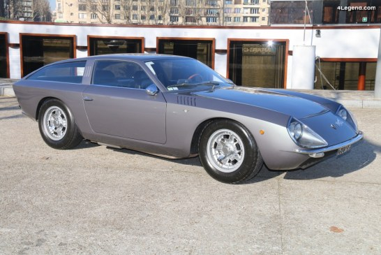 Lamborghini 4000 GT Flying Star II de 1966 par Touring Superleggera