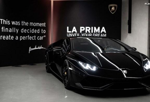 La Prima – Lamborghini lance son service de livraison à l'usine