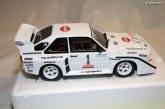 Miniature Audi Sport quattro S1 Olympus Rally de 1985 au 1:18 – Ottomobile