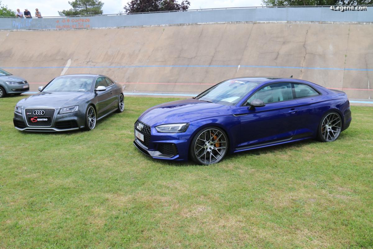Nouvelles jantes RS quattro pour modèles Audi