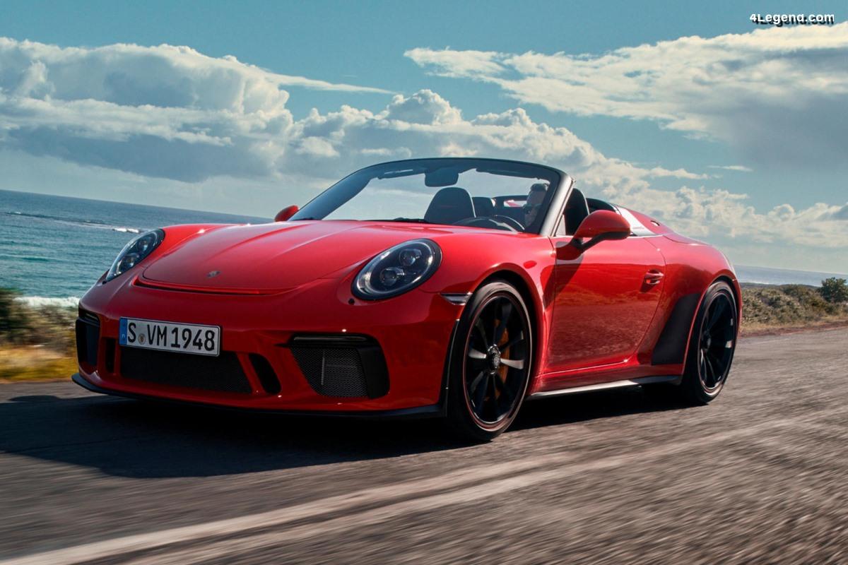 Nouvelle Porsche 911 Speedster 2019 - 1 948 exemplaires