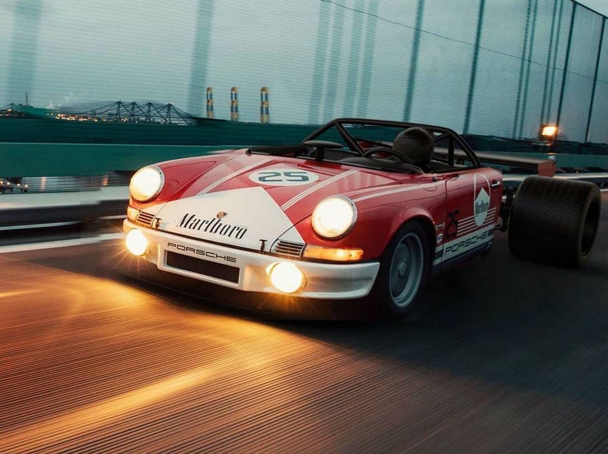 Porsche Half11 - 50% 911 - 50% Formule 1