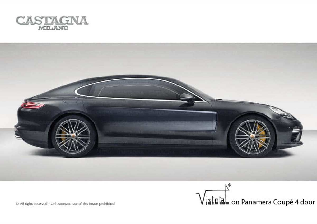 Porsche Panamera Vistotal par Castagna Milano