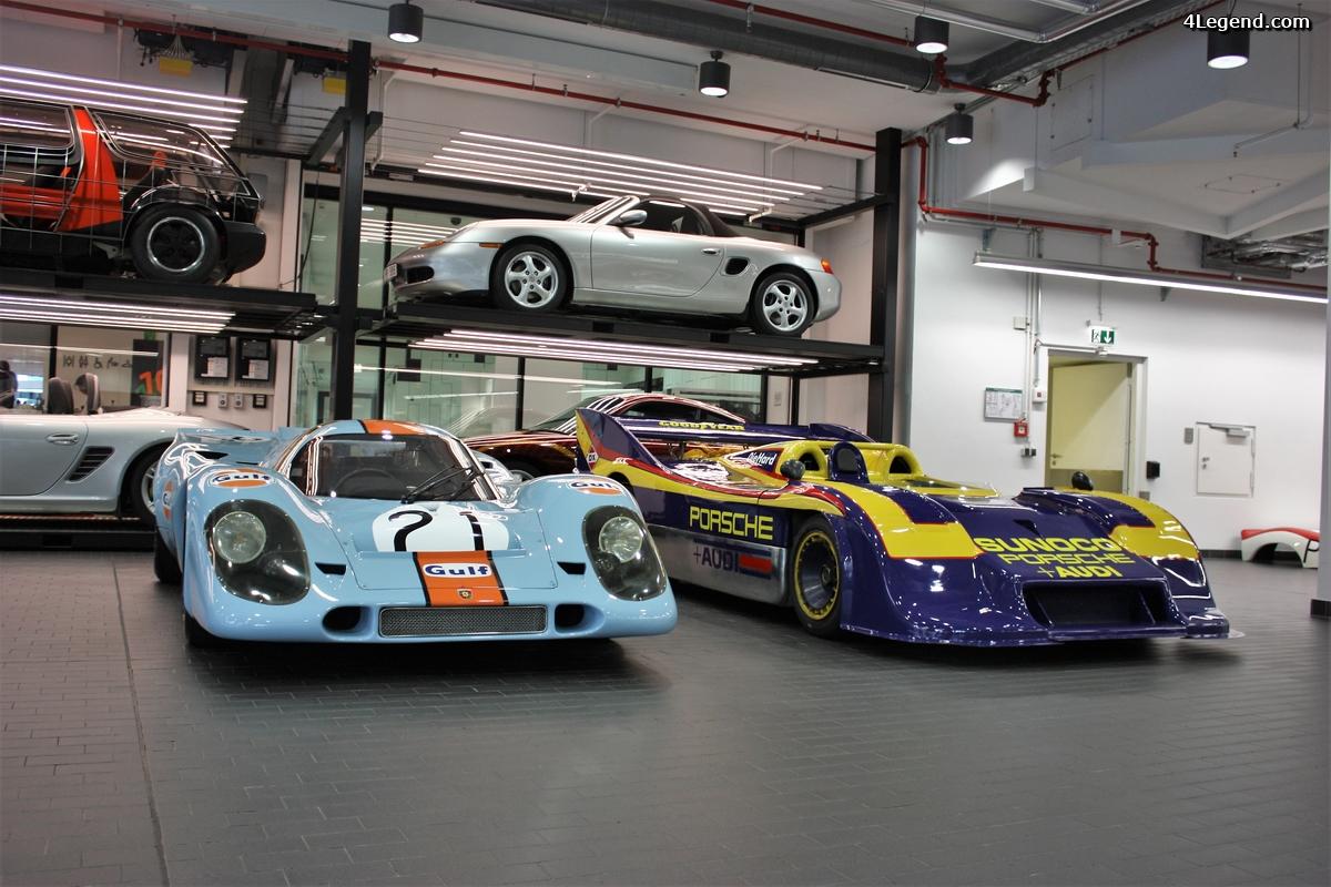 Workshop du Porsche Museum: Porsche 917, 908/2 et 909 Bergspyder