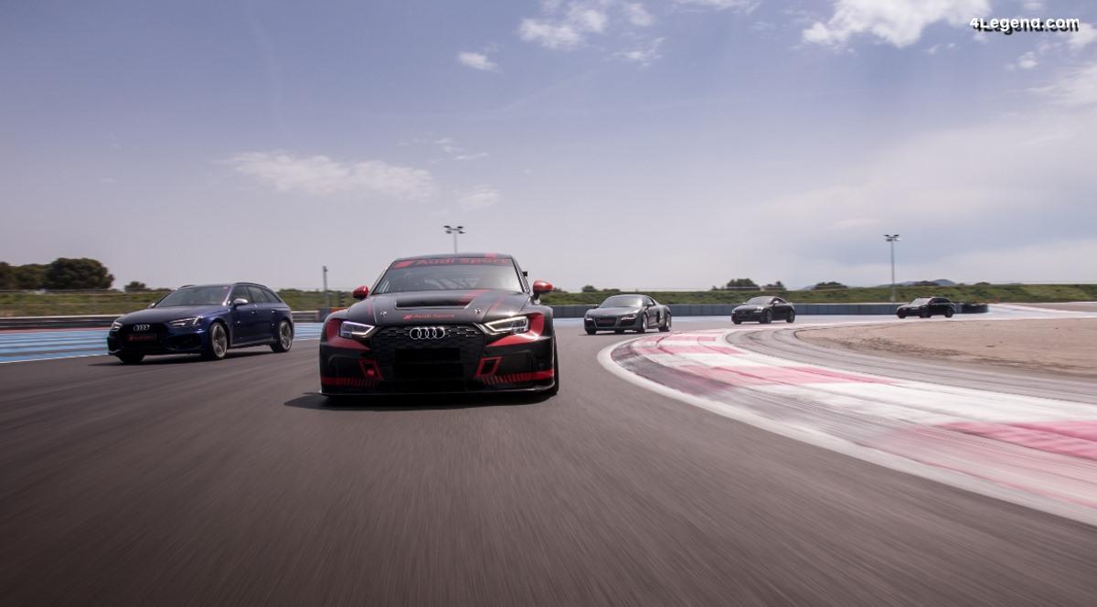 Rassemblement Audi Sport 2019 - Des modèles Audi Sport réunis au Castellet