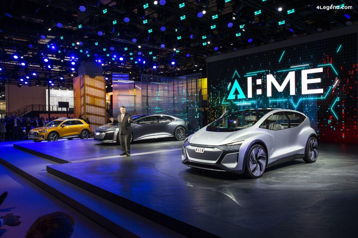 Shanghai 2019 - Deux nouveautés Audi et un concept car dévoilés en Chine