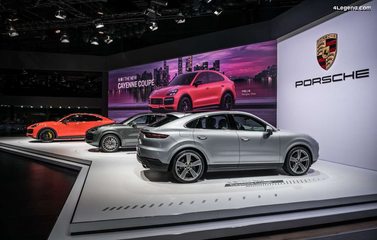 Shanghai 2019 - Première asiatique du Porsche Cayenne Coupé