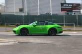 Spyshots – La nouvelle Porsche 911 Targa type 992 testée au Nürburgring